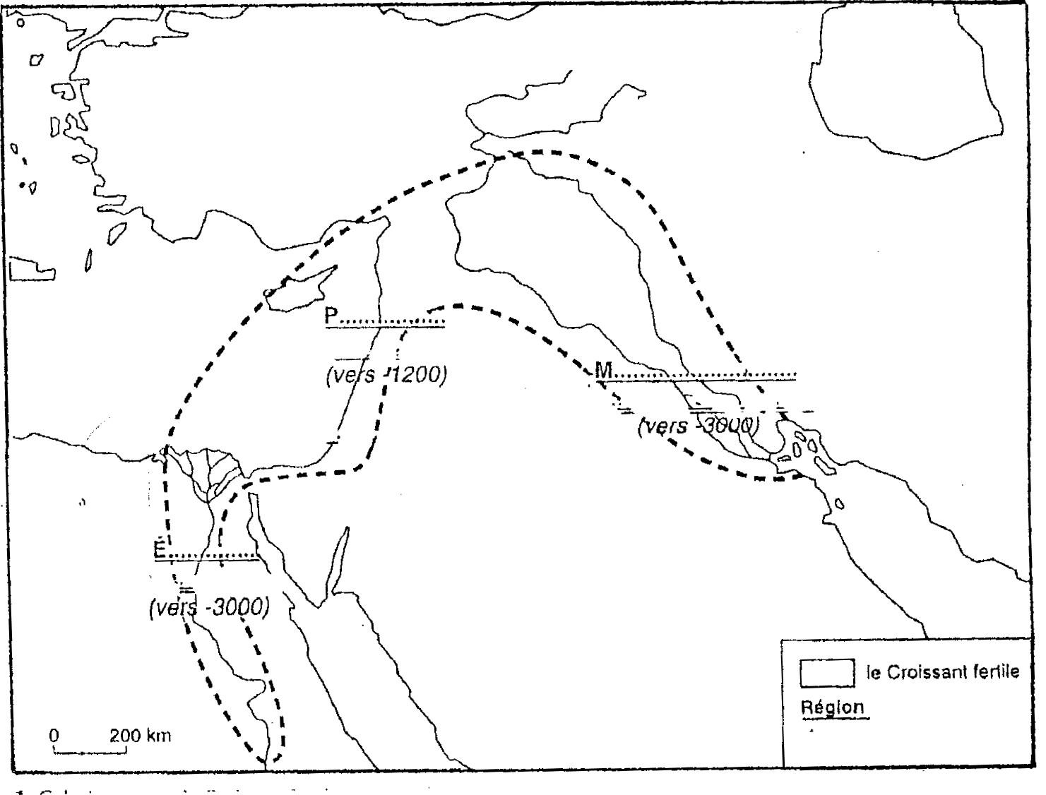 Orient Ancien Carte Villes